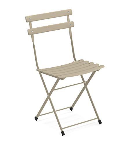 Emu Arc en Ciel Folding Chair Emu Art. 314 Color Dove Grey 71
