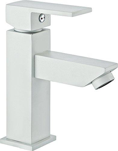 ROUSSEAU GerzatGrifo de lavabo, blanco, 4055998