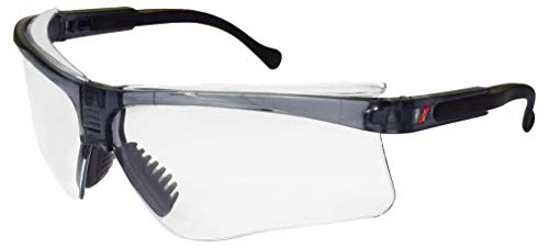 1× Nitras Schutzbrille VISION PROTECT PREMIUM, Tragkörper schwarz, Sichtscheiben klar