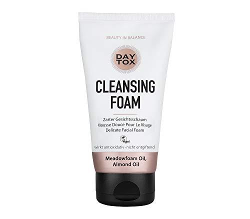 DAYTOX Espuma Limpiadora Facial - Limpiador Facial para el Cuidado del Rostro - Vegano - Sin Colorantes, sin Silicona y sin Parabenos - 1 x 150 ml