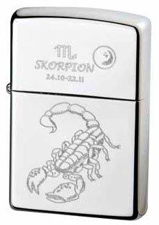 Zippo briquet zodiac collection scorpion