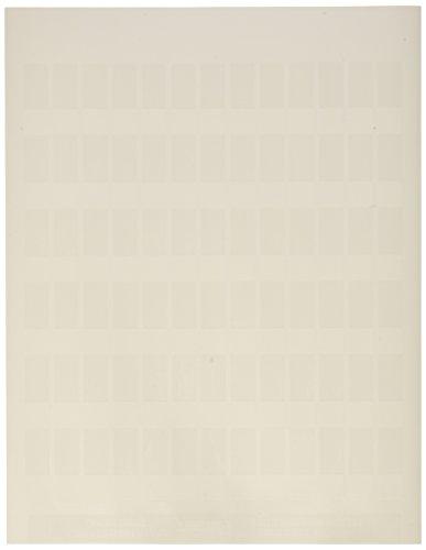 Panduit S050X150YAJ Laser/Inkjet Self-Laminated Label, Polyester, Clear/ White (5,000-Pack)