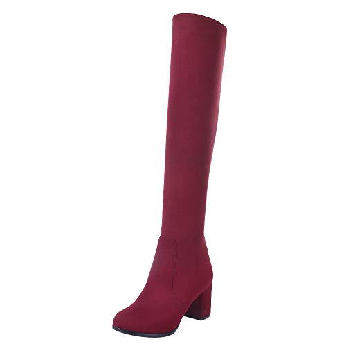VulusValas Mujer Fashion Botas Pull on