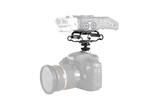 """Movo Supporto antivibrazione Universale SMM5 con aggancio per Fotocamera con Filettatura di Fissaggio ¼"""" – Adatto allo Zoom H4n, H5, H6, Tascam DR-40, DR-05, DR-07 & registratori Simili"""