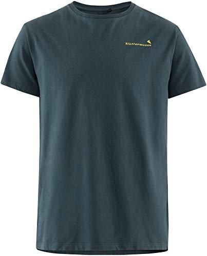 Klättermusen Runa Roadmap Kurzarm T-Shirt Herren Midnight Blue Größe XXL 2020 Kurzarmshirt