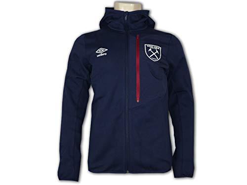 UMBRO West Ham United jas met capuchon WUFC sport vrije tijd hoodie jas Hammers Top
