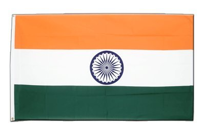 Indien Flagge, indische Fahne 90 x 150 cm, MaxFlags®