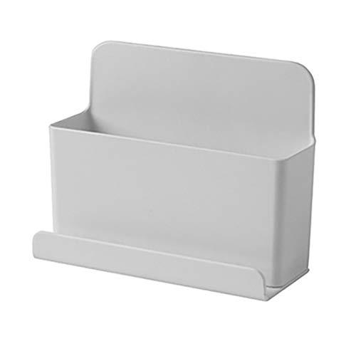 KYMLL Multifunktionale Fernbedienung Holdermobile Einfache kreative Telefonablage Lazy tragbare Halterung Aufbewahrungsbox (groß)
