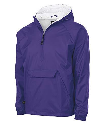 Mens Purple Windbreaker