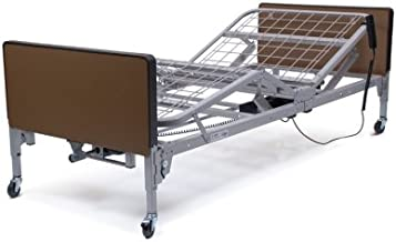 Patriot Full-Electric Bed With Roll-on Mattress And Clamp-On Half Rails