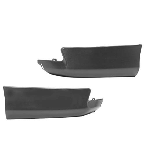 Semoic 2Pcs Auto HeckschüRzen Spat Bumper Lip Spoiler Body Kit für Corolla 2011 2012 2013 S Style