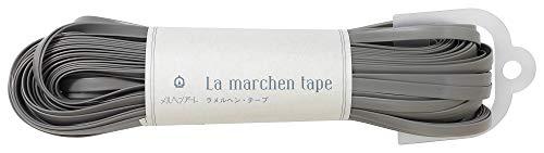 メルヘンアート ラ メルヘン・テープ 5mm 150g 約30m Col.138 マットグレー 1玉