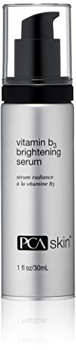 PCA SKIN Vitamin B3 Brightening Serum - 6% Niacinamide, Nighttime Antioxidant Serum Brightens Dark Spots & Discoloration (1 oz)