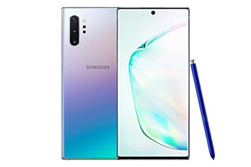 Samsung Galaxy Note10+ 4G Hybrid-SIM 256 GB 6.3-Inch Android Smartphone - Aura Glow (UK Version)