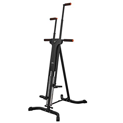 RELIFE REBUILD YOUR LIFE Vertical Climber for Home Gym Folding Exercise Cardio Workout Machine Stair Stepper Newer Version by RELIFE REBUILD YOUR LIFE