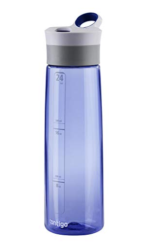 Contigo Trinkflasche Grace Autoseal, große BPA-freie Kunststoff Wasserflasche, auslaufsicher, für Sport, Fahrrad, Joggen, Wandern, 720 ml