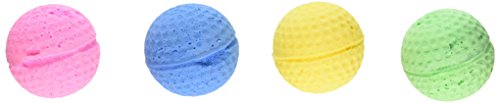 Coastal Pet Products 763919 80045R Sponge Balls 4Pk Cat