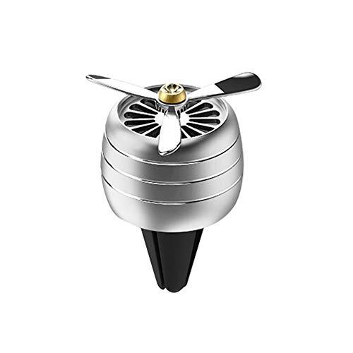 Lai-LYQ - Ambientador Coche 3 Ventiladores, Fragancia