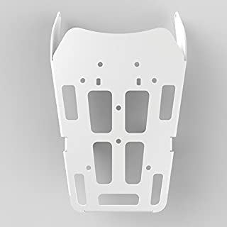 Cargo Rack Luggage Carrier Utility Rear Tail Holder White Powdercoat fits: 12-16 Honda CRF250L - Immix Racing - 100-011-White