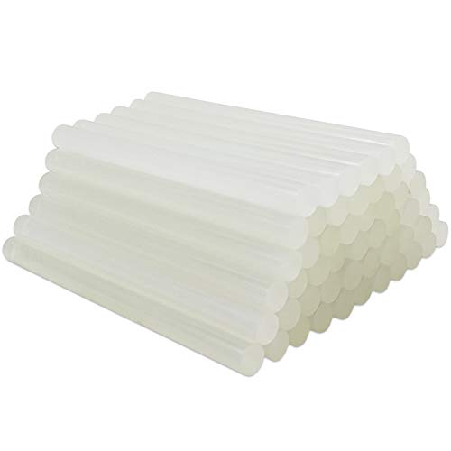 FANGZI 150 x 11mm Heißklebestifte Universal Transparent Super Klebriger Kleber Packung mit 45 Stück