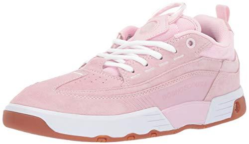 DC Women's Legacy 98 Slim Skate Shoe, Pink, 10.5 M US