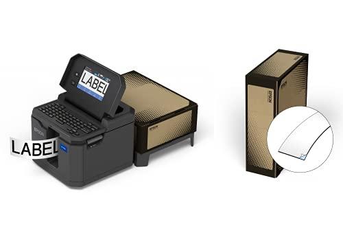 "LABELWORKS LW-Z5010PX-B Industrial Label Maker and Bonus Bulk 1"" Black on White Vinyl Tape - Complete Printer Kit with Accessories, Bulk Label Roll B224VTBWPX, Desktop Label Printer Photo #2"