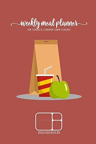 Weekly meal planner for school and summer camp lunches | BENTGO FRESH BENTO BOX: DOWNLOADABLE BONUS Lunch Notes PDF + Grocery list interactive PDF - ... planner for BENTO BOX COLLECTION, Band 3)