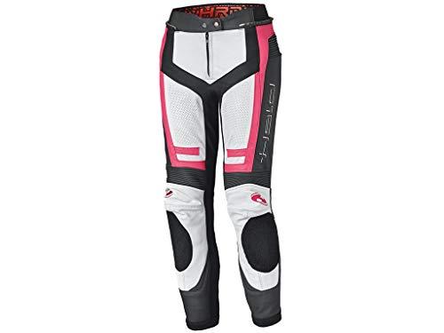 Held Rocket 3.0 Damen Motorrad Lederhose Weiß/Pink/Schwarz 38
