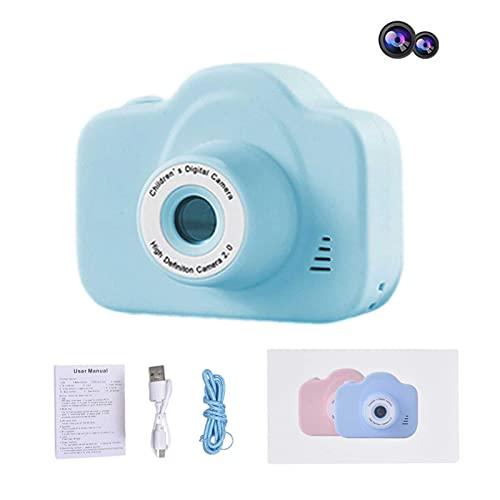 Kwangchow Cámara para Niños Infantil con Tarjeta TF 32 GB Cámara de Fotos Digital Cámara Juguete para Niños 2 Pulgadas 1080P HD Selfie Video Cámara Regalos Ideales para Niños Niñas de 3-10 Años