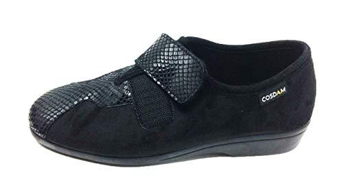 Zapatilla de Calle/Mujer/Cosdam/Ancho Especial/Cuña 3cm