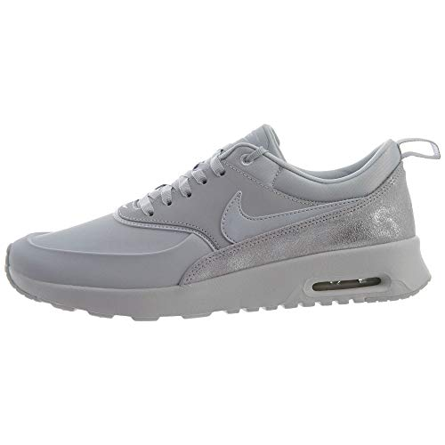 Nike Wmns Air Max Thea Prm, Scarpe da Fitness Donna, Multicolore (Pure Platinum/Pure Platinum/Summit White 026), 38 EU