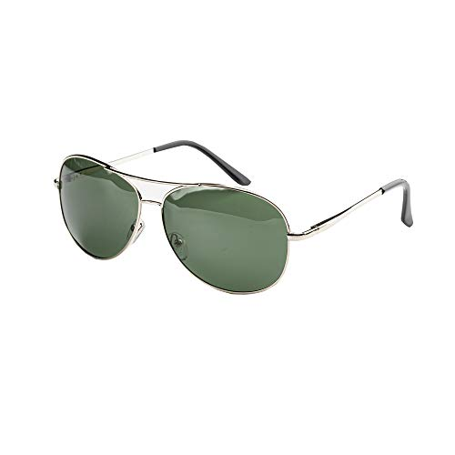 Gafas de sol polarizadas para mujeres y hombres estilo aviador clásico