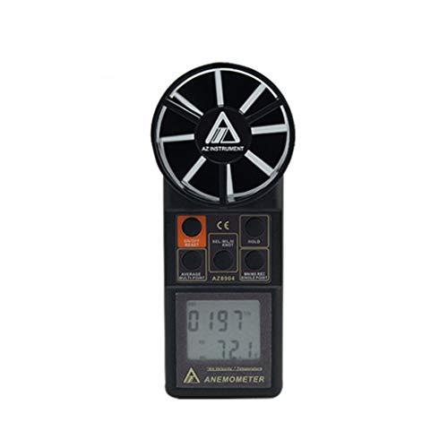 Zcyg Anemometer Wind Speed Meter Digitaler tragbarer Windmesser for Hubschrauber, Windsurfen, Drachenfliegen, Segeln, Surfen, Angeln