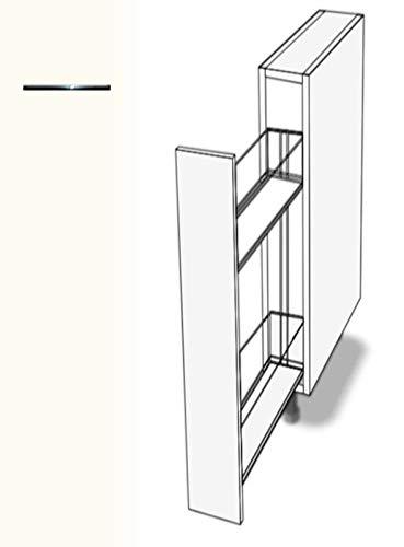 Premium-Ambiente ASTUVWE344 Unterschrank Apothekerschrank Vollauszug Softclosing FE (Breite 20cm, 68 Basisweiss)