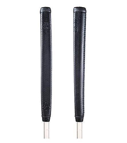 Grip Master Unisex-Adult Leather Grip Golfschlägergriff, Schwarz, Mid Größe