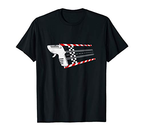 Slotcar Slotracing Handregler T-Shirt