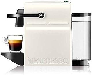 Nespresso Inissia Coffee Capsule Machine with Aeroccino3 White