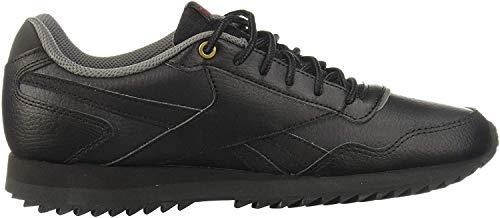 Reebok Herren Royal Glide Rpl Laufschuhe, Mehrfarbig (Black/Coal/Alloy/Scarlet 000), 43 EU