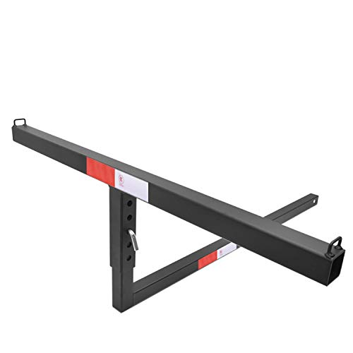 """BETTER AUTOMOTIVE 2"""" Truck Bed Trailer Hitch Mount Extender 500 LBS Capacity Utility Adjustable Universal Pick Up Extension Rack for Kayak Canoe Ladder Lumber Pipes Cargo Carrier Accessories with Pins"""