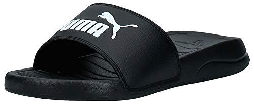 Puma Unisex-Erwachsene Popcat 20 Zapatos de Playa y Piscina, Schwarz Black White, 43 EU