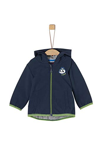 s.Oliver Junior 405.12.002.16.150.1278929 Shell-Jacke, Baby - Jungen, Blau 80 EU