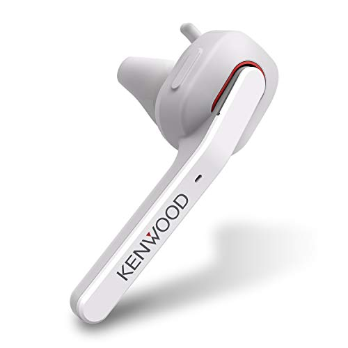 JVCケンウッド KENWOOD KH-M500-W 片耳ヘッドセット Bluetooth対応 連続通話時間 約7時間 左右両耳対応 ハンズフリー通話対応 テレワーク・テレビ会議向け ホワイト