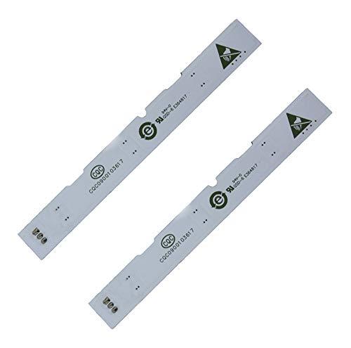 Lot de 2 barres de lampe LED pour réfrigérateur Haier BCD-575WDBI 0064001827