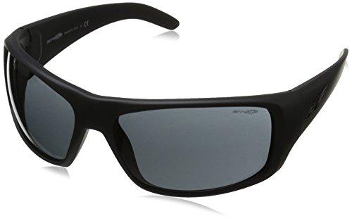 Arnette Herren 0AN4179 447/87 66 Sonnenbrille, Schwarz (Fuzzy Black/Gray)