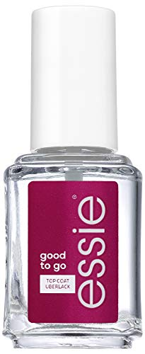 Essie Schnell trocknender Top Coat good to go, Schutz und Glanz, Transparent, 13.5 ml