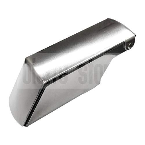 Cepillo para hielo de aluminio, cepillo para granizados, rallador de hielo, rasqueta