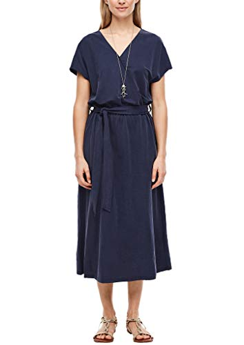 s.Oliver Damen Kleid kurz Dark Blue 40