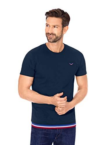 Trigema Herren 621232120 T-Shirt, Navy, XL