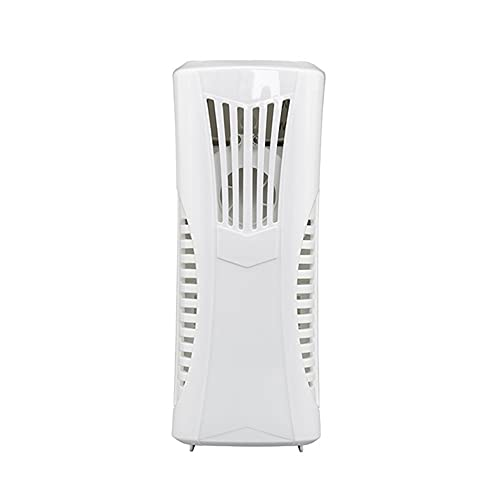 Dispensador Automático de Ambientador de Aire Montado en la pared / Independiente Dispensador de Perfumes de Fragancia con Frasco de 80 ML Baño Oficina Blanco