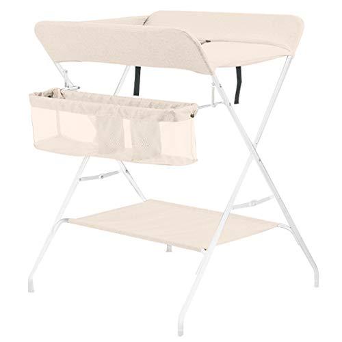 JINYANG JY Wickeltisch Baby Pflegetisch Neugeborenen Wickelharn Nass Schminktisch Bad Touch Tisch Mobile Folding